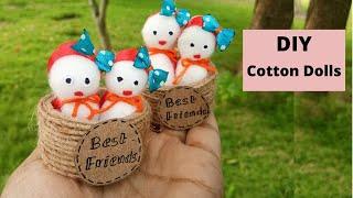 Easy Cotton Doll | DIY | Handmade Cotton Doll  | Aloha Crafts