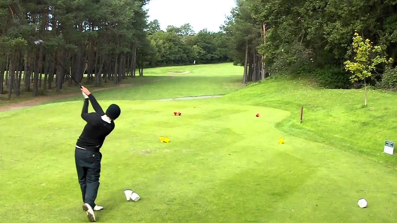 Leatherhead Golf Club 16th Hole Youtube