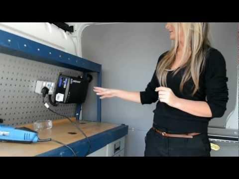 Van Conversion and Merlin MPower Inverter