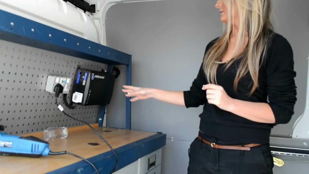 Van Conversion and Merlin MPower Inverter  YouTube