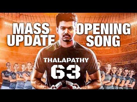 Thalapathy 63 Mass Opening Song Update | #Vijay #Atlee