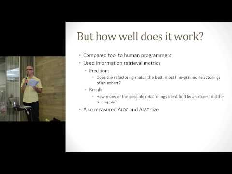 Crossing the Gap from Imperative to Functional Programming Through Refactoring - Peter Burka
