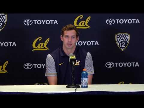 Cal Football: Davis Webb Press Conference (11/15/16)
