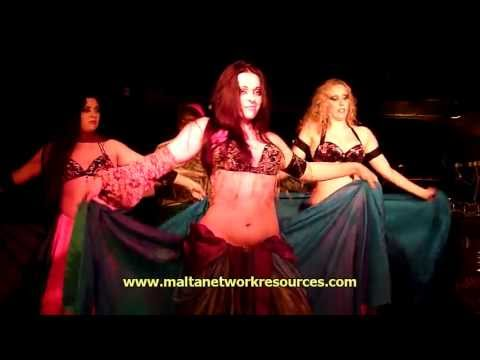 Chellcy & Fringe Benefits International Bellydancing  Dreams of Arabia - Burlesque