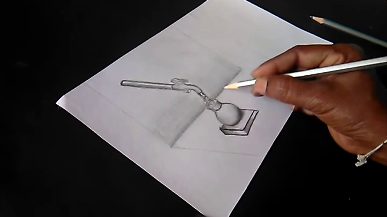 Save water pencil drawing key of arts youtube