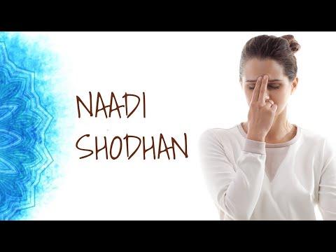 Nadishodhan Pranayam - Yoga Asanas for good Health - Part  9