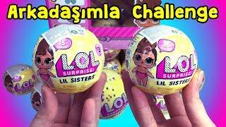 Arkadaşımla LOL Confetti POP Lil Sisters Challenge - Yüklemeyi Unuttuğum Eski Videom