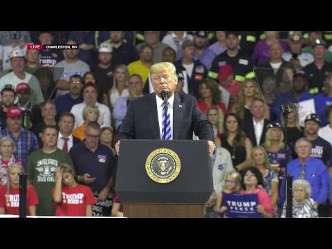 Watch Live! Trump Rally in Charleston, WV