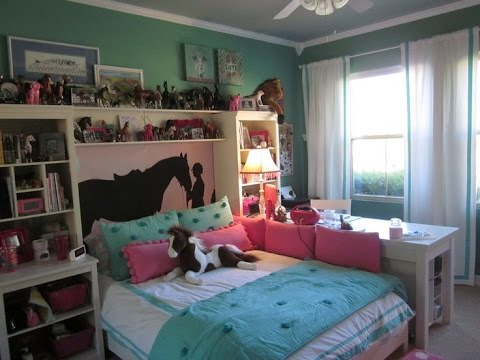Horse Themed Room Tour 2016