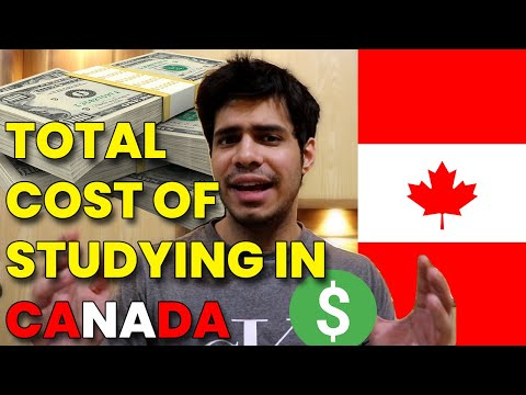 How much does it Cost to study in CANADA || Total Cost of Studying in Canada