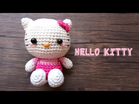 Free Amigurumi Hello Kitty Pattern ⋆ Crochet Kingdom | 360x480