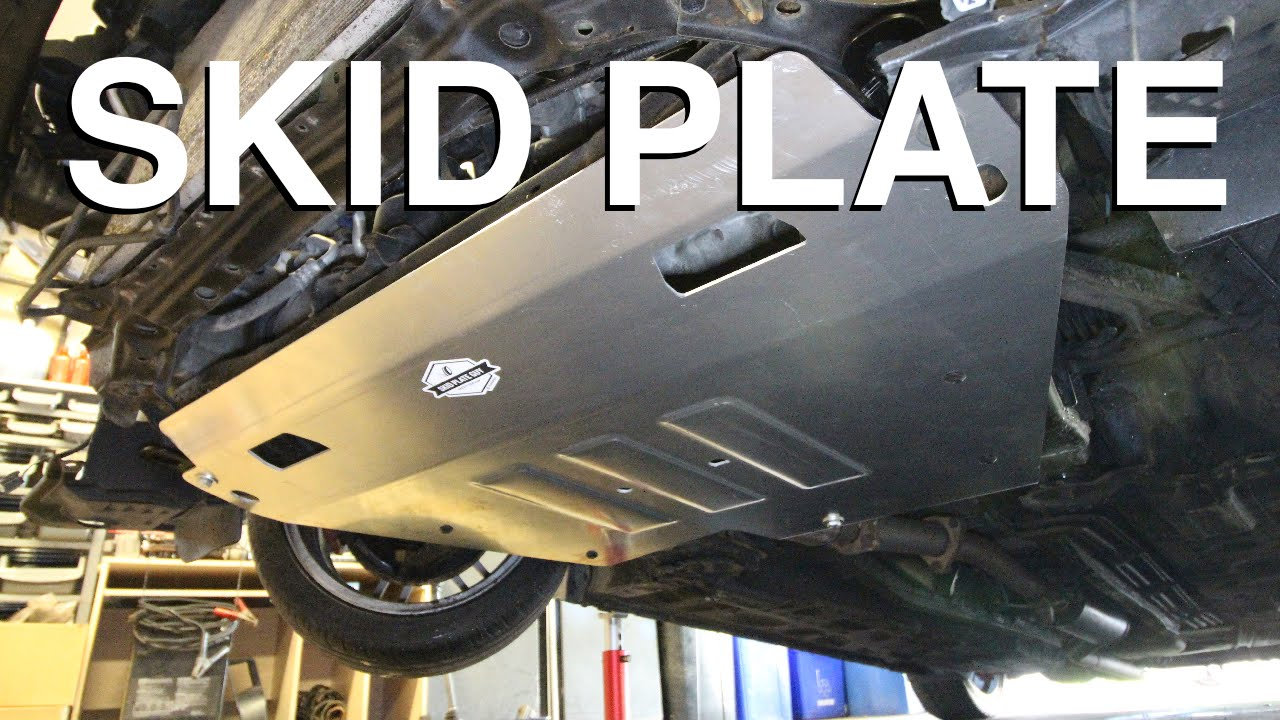 How to Install a Skid Plate (EASY)  YouTube