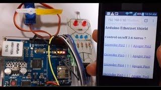 Encender luces desde Internet, abrir puertas(Arduino Ethernet)