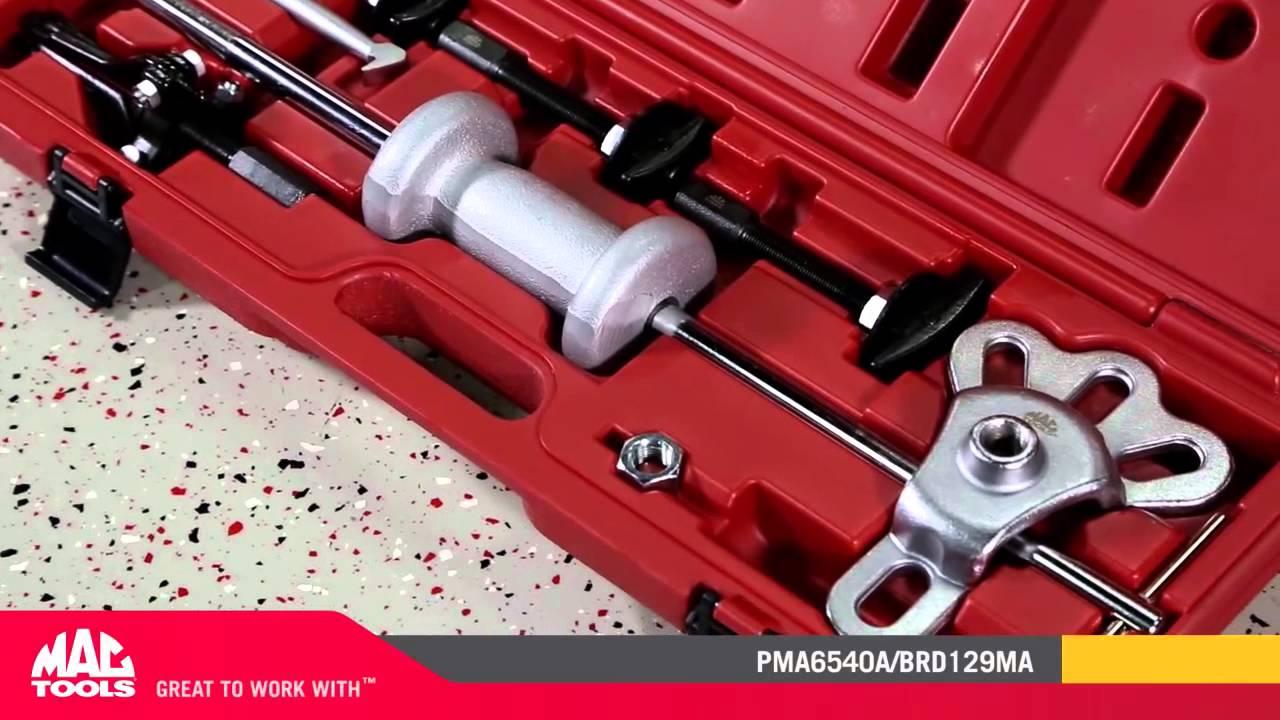 Pma6540a 8 Pc Rear Axle Bearing Puller Set Mac Tools