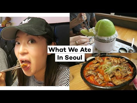 What We Ate in a Day in Seoul+ Announcing Giveaway Winner | Seoul, Korea Vlog