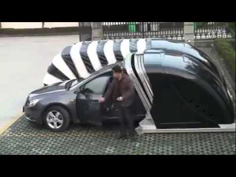 Automatic Car Cover Youtube