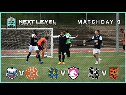 CAN #ACADEMY BECOME THE CHAMPIONS? 🏆 | MATCHDAY 9 HIGHLIGHTS! - NEXT LEVEL FOOTBALL LEAGUE
