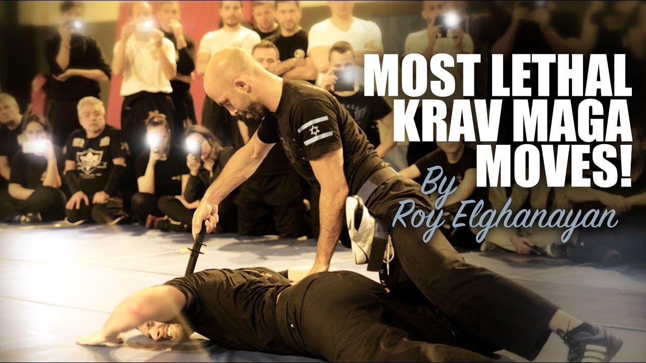 Most Lethal Krav Maga Moves! (LIVE DEMO) - YouTube