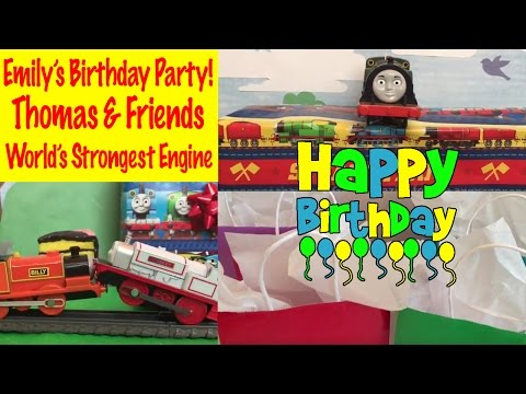Thomas and Friends Emilys Birthday Worlds Strongest Engine