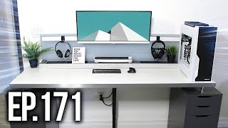 Room Tour Project 171 - Clean & Minimal Setup Edition!