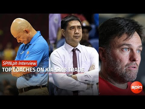 SPIN.ph Interview: Top Coaches on KIA-SMB Trade