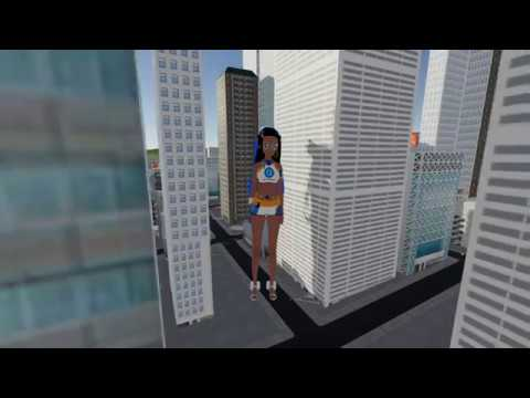 Download [Sizebox] Giantess Nessa's stroll through the city (Download in description)