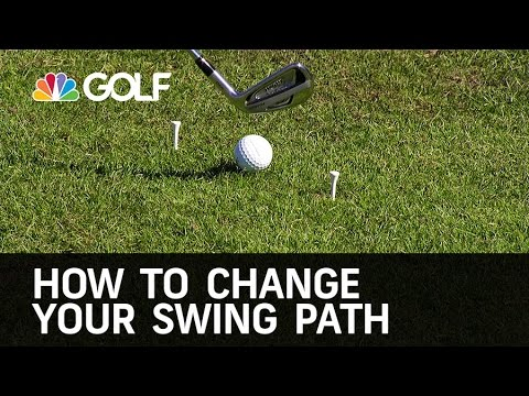 Change Your Swing Path – The Golf Fix | Golf Channel
