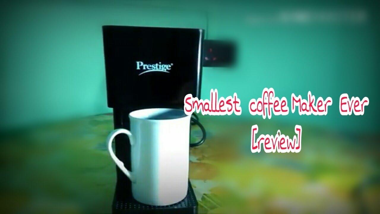 How to make coffee in prestige drip maker
