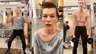 Milla Jovovich | Instagram Live Stream