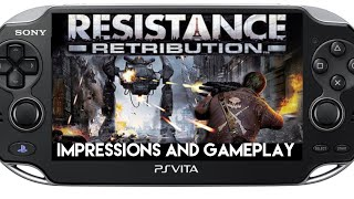 Resistance Retribution PS Vita Gameplay and Impressions ( PSVita )