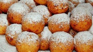 Простой рецепт творожных пончиков