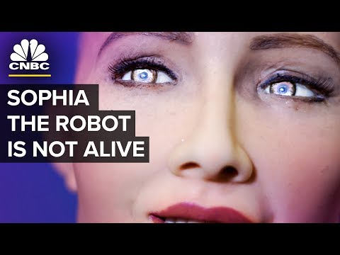 Humanoid Robot Sophia  Almost Human Or PR Stunt  CNBC