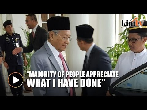 Mahathir: Malaysia grew much faster during my time