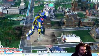 SimCity (Cities of Tomorrow) - Robot Attack!