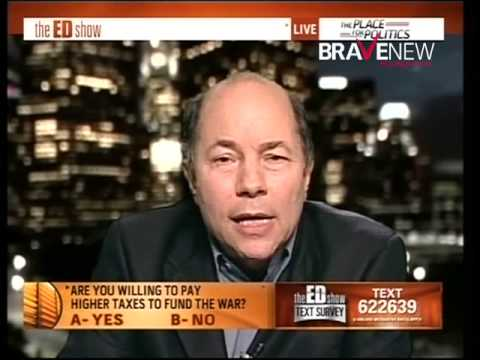 Robert Greenwald on The Ed Show for Rethink Afghanistan - November 24, 2009