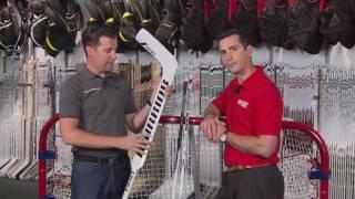 Hockey Le Magazine - Saison 2 - Équipement - Les bâtons de gardiens de but