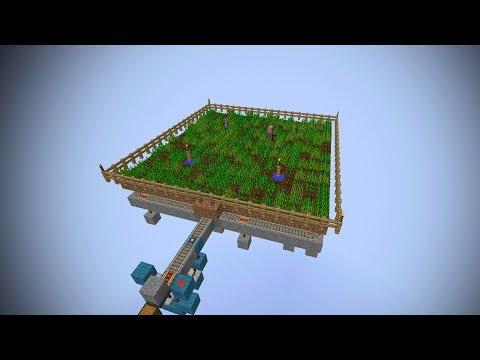 Minecraft Fully Automatic Wheat Farm using Villagers - Minecraft 1.8