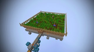 Minecraft Fully Automatic Wheat Farm using Villagers - Minecraft 1.8
