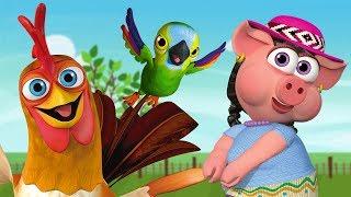 Любимые герои на ферме сборник детских песен детские песни Детское Королевство