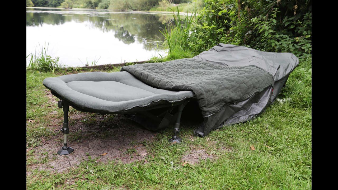 Taska TV  Sneeka VBS Bed System - Carp Fishing Tackle Bed - YouTube 83c5dc4a85