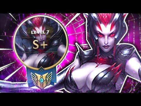 Elise Jungle S+ Carry in Diamond! League of Legends