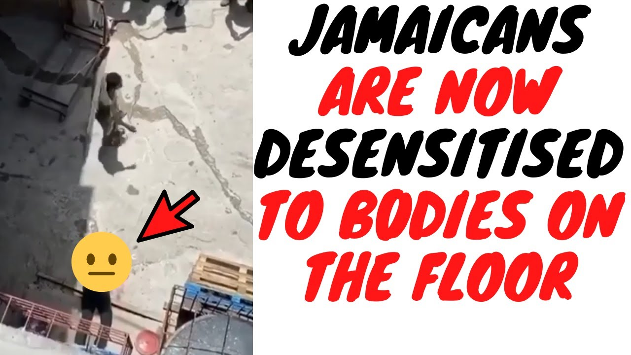 Not Even A Man Getting SH0T And Falling Three Storeys Can Shake A Jamaican Crowd