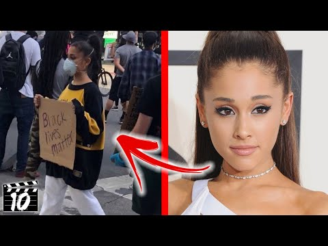 Top 10 Celebrities Involved In The Protests