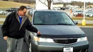 Used 2001 Honda Odyssey EX for sale at Honda Cars of Bellevue...an Omaha Honda Dealer!