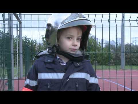 Oka�di : Quand je serai grand, je serai... Pompier : Julien, 7 ans.