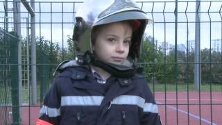 Okaïdi : Quand je serai grand, je serai... Pompier : Julien, 7 ans.