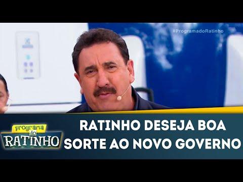 """Ratinho deseja boa sorte a Bolsonaro e dispara: """"Quem precisa do Governo é o povo mais humilde"""""""