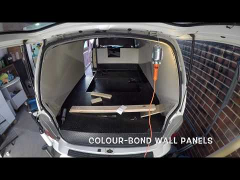 Pup My Ride : Fit out of a dog van