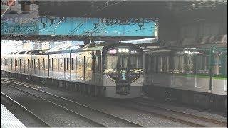 【 洛楽そして洛楽? 】 京阪 祇園祭宵々々山・宵々山・宵山 当夜の列車運転 軽量版 【 4K 】