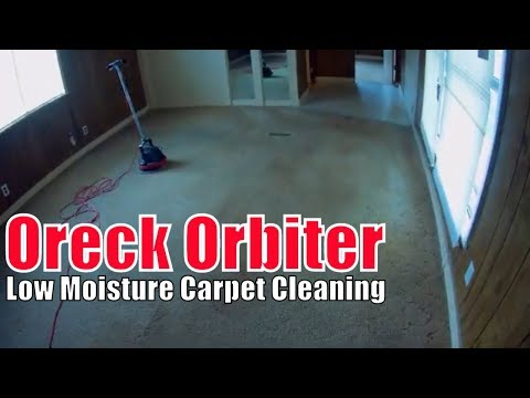 Oreck Orbiter Low Moisture Carpet Cleaning A Mobile Home